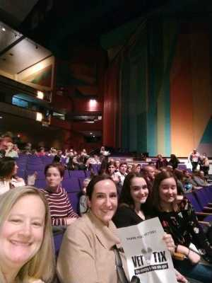 Randall attended Rodgers and Hammersteins Cinderella on Mar 15th 2019 via VetTix