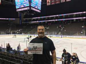 Rowland attended Jacksonville Icemen vs. Florida Everblades - ECHL on Mar 3rd 2019 via VetTix