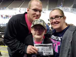 Benjamin attended Jacksonville Icemen vs. Florida Everblades - ECHL on Mar 3rd 2019 via VetTix