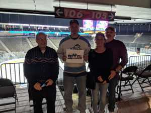 James attended Jacksonville Icemen vs. Florida Everblades - ECHL on Mar 3rd 2019 via VetTix