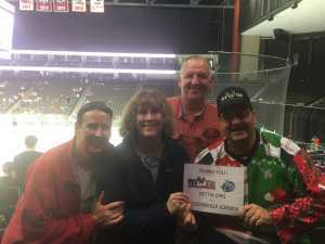George attended Jacksonville Icemen vs. Florida Everblades - ECHL on Mar 3rd 2019 via VetTix