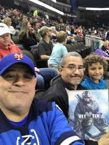 Stro attended Jacksonville Icemen vs. Florida Everblades - ECHL on Mar 3rd 2019 via VetTix