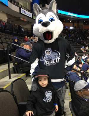 Christian attended Jacksonville Icemen vs. Florida Everblades - ECHL on Mar 3rd 2019 via VetTix