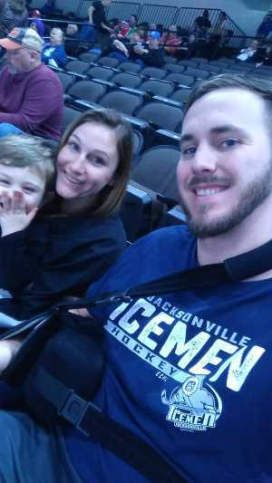 Cody attended Jacksonville Icemen vs. Florida Everblades - ECHL on Mar 3rd 2019 via VetTix