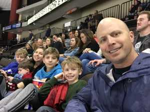 David attended Jacksonville Icemen vs. Florida Everblades - ECHL on Mar 3rd 2019 via VetTix