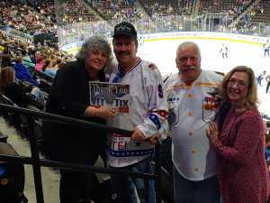 Thomas attended Jacksonville Icemen vs. Florida Everblades - ECHL on Mar 3rd 2019 via VetTix