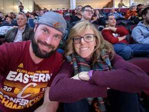 Chad attended Cleveland Cavaliers vs. Portland Trail Blazers - NBA on Feb 25th 2019 via VetTix