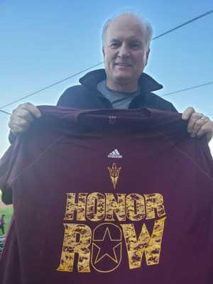 Jerry attended Honor Row - Arizona State University Sun Devils vs. New Mexico State - NCAA Men's Baseball on Mar 13th 2019 via VetTix