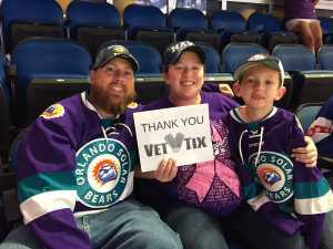 Click To Read More Feedback from Orlando Solar Bears vs. Florida Everblades - ECHL - Military Appreciation Night