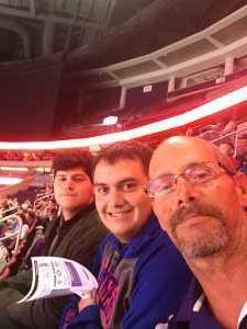 Mark attended Orlando Solar Bears vs. Florida Everblades - ECHL - Military Appreciation Night on Mar 2nd 2019 via VetTix