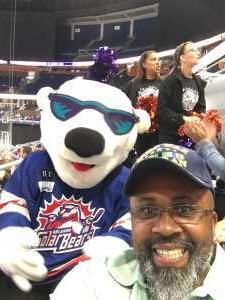 Vaughn attended Orlando Solar Bears vs. Florida Everblades - ECHL - Military Appreciation Night on Mar 2nd 2019 via VetTix