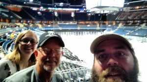 Harold attended Orlando Solar Bears vs. Florida Everblades - ECHL - Military Appreciation Night on Mar 2nd 2019 via VetTix