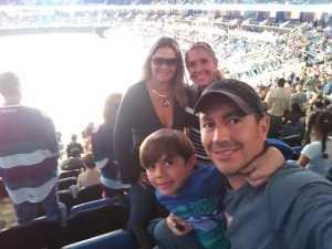 JUAN attended Orlando Solar Bears vs. Florida Everblades - ECHL - Military Appreciation Night on Mar 2nd 2019 via VetTix