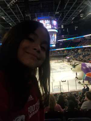 Ron attended Orlando Solar Bears vs. Florida Everblades - ECHL - Military Appreciation Night on Mar 2nd 2019 via VetTix