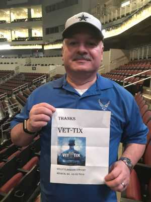 Anthony attended Kelly Clarkson: Meaning of Life Tour on Mar 2nd 2019 via VetTix