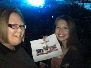 Amy attended Kelly Clarkson: Meaning of Life Tour on Mar 2nd 2019 via VetTix