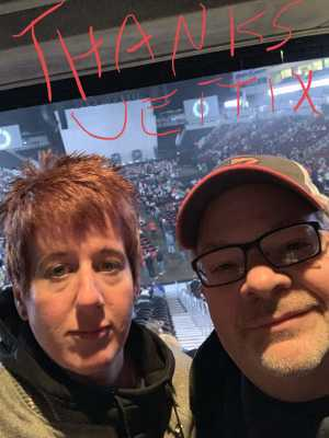Earl & Liz attended Kelly Clarkson: Meaning of Life Tour on Mar 2nd 2019 via VetTix