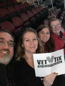 Michael attended Kelly Clarkson: Meaning of Life Tour on Mar 2nd 2019 via VetTix