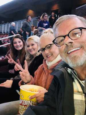 Vernon attended Kelly Clarkson: Meaning of Life Tour on Mar 2nd 2019 via VetTix