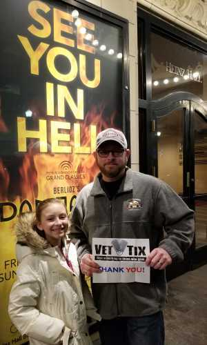 Chip attended Dramatic Symphony! Berliozs - Damnation of Faust - Presented by the Pittsburgh Symphony on Mar 8th 2019 via VetTix