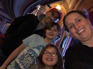 Nathaniel attended Disney Dcappella on Mar 5th 2019 via VetTix
