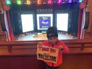 Jeremy attended Disney Dcappella on Mar 5th 2019 via VetTix