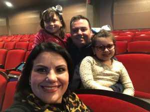 Cristian attended Disneys Dcappella - Other on Mar 2nd 2019 via VetTix
