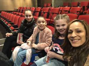 Felicia attended Disneys Dcappella - Other on Mar 2nd 2019 via VetTix