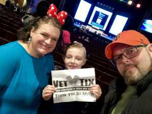 Jesse attended Disneys Dcappella - Other on Mar 2nd 2019 via VetTix