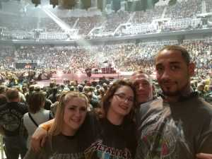 Gerald attended Metallica - Worldwired Tour on Mar 4th 2019 via VetTix