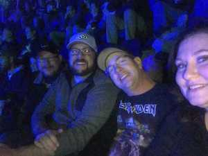 Nathan attended Metallica - Worldwired Tour on Mar 4th 2019 via VetTix