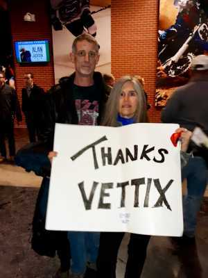 Kim attended Metallica - Worldwired Tour on Mar 4th 2019 via VetTix