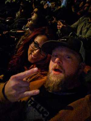 Thomas attended Metallica - Worldwired Tour on Mar 4th 2019 via VetTix