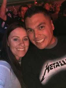 Stephanie attended Metallica - Worldwired Tour on Mar 4th 2019 via VetTix