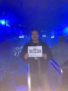 Eric attended Metallica - Worldwired Tour on Mar 4th 2019 via VetTix