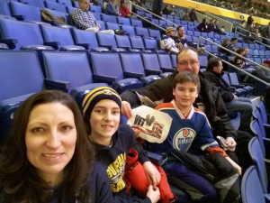 Darren attended Buffalo Sabres vs. Edmonton Oilers - NHL on Mar 4th 2019 via VetTix