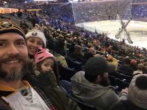 Jeromy attended Buffalo Sabres vs. Edmonton Oilers - NHL on Mar 4th 2019 via VetTix