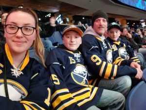 Scott attended Buffalo Sabres vs. Edmonton Oilers - NHL on Mar 4th 2019 via VetTix
