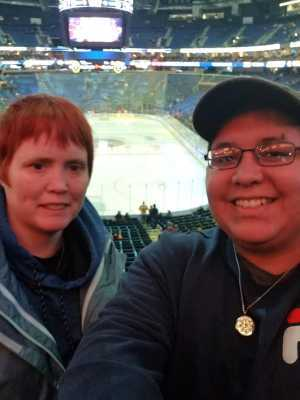 Tammy attended Buffalo Sabres vs. Edmonton Oilers - NHL on Mar 4th 2019 via VetTix