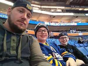 James attended Buffalo Sabres vs. Edmonton Oilers - NHL on Mar 4th 2019 via VetTix