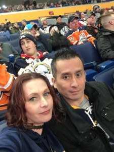 phangum attended Buffalo Sabres vs. Edmonton Oilers - NHL on Mar 4th 2019 via VetTix