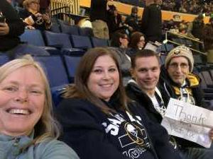 Virginia attended Buffalo Sabres vs. Edmonton Oilers - NHL on Mar 4th 2019 via VetTix