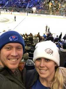 Leah attended Buffalo Sabres vs. Edmonton Oilers - NHL on Mar 4th 2019 via VetTix