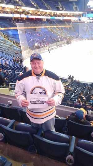 Robert attended Buffalo Sabres vs. Edmonton Oilers - NHL on Mar 4th 2019 via VetTix