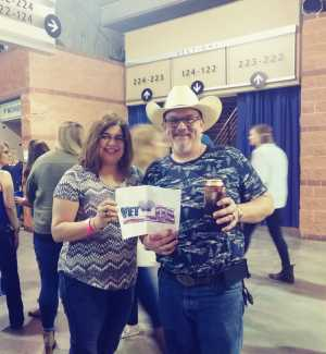 Keith attended Old Dominion's Make It Sweet Tour on Mar 1st 2019 via VetTix