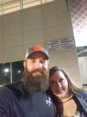 Joshua attended Old Dominion's Make It Sweet Tour on Mar 1st 2019 via VetTix