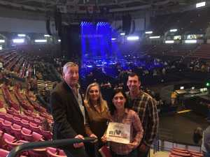 Natalie attended Old Dominion's Make It Sweet Tour on Mar 1st 2019 via VetTix