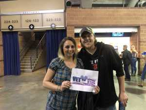 David attended Old Dominion's Make It Sweet Tour on Mar 1st 2019 via VetTix