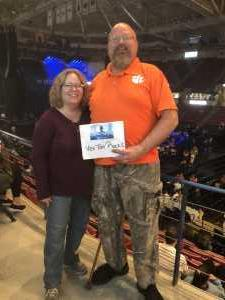 Dennis attended Old Dominion's Make It Sweet Tour on Mar 1st 2019 via VetTix