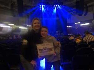 James attended Old Dominion's Make It Sweet Tour on Mar 1st 2019 via VetTix